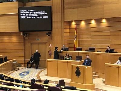 El nuevo Ministro de Fomento confirma que España se adherirá a la Alianza europea por la carretera para combatir el dumping social en el transporte.    En su intervención ayer en el Senado planteó la política del Ministerio de Fomento en materia de transporte por carretera. Su objetivo será fomentar un sector español[…] Ampliar noticia …