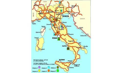 El Ministerio de Transportes italiano, mediante Decreto de fecha 22 de diciembre de 2015 (Decreto nº 417) ha establecido el nuevo calendario de restricciones de circulación por las carreteras italianas para el año 2016, estableciéndose principalmente las siguientes:  A).- Vehículos y conjunto de vehículos de transporte de mercancías de M.M.A. superior[…] Ampliar noticia …