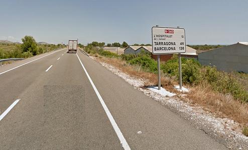 Tráfico tramita ahora prohibir la circulación de los camiones en la N-340 en Castellón y Tarragona y su desvío obligatorio a la AP-7