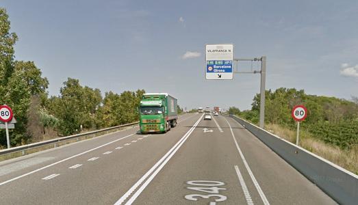 Nuevos desvíos obligatorios en la AP-7 en Castellón a camiones