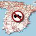 Restricciones a la circulación en España en 2017 para vehículos de transporte