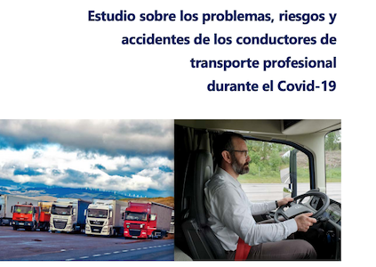 Problemas, riesgos y accidentes en el transporte profesional relacionados con COVID-19  Preocupante incremento de accidentes de conductores de transporte de mercancías  Entre el 15 de marzo y el 6 de mayo, el número de fallecidos en camiones de más de 3.500 kg se ha multiplicado en un 2,4 respecto de la media[…] Ampliar noticia …