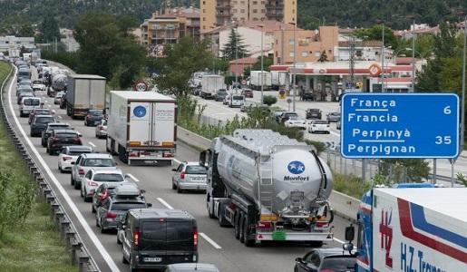 Controles en la frontera con Francia